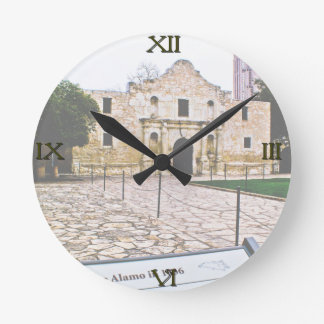 Reloj de pared de Álamo
