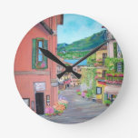 Reloj de pared de Bellagio, Italia