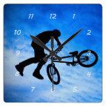 Reloj de pared de BMX