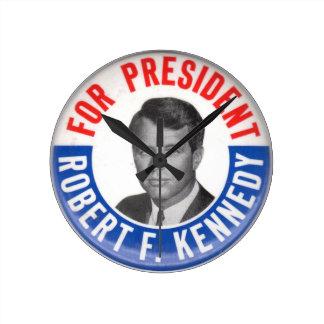 Reloj de pared de Bobby Kennedy
