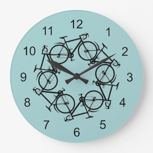 Reloj de pared de ciclo
