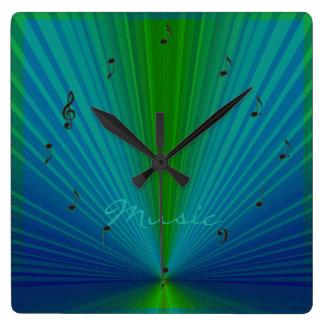 Reloj de pared de Creative>Music de las notas