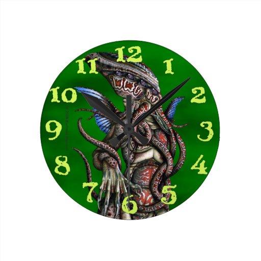 Reloj de pared de Cthulhu