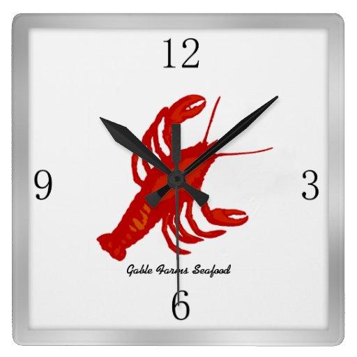 Reloj de pared de encargo del restaurante de la im