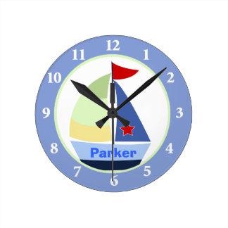 Reloj de pared de encargo del sitio del cuarto de