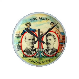 Reloj de pared de Eugene Debs