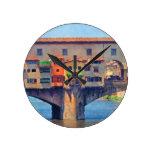 Reloj de pared de Florencia, Italia