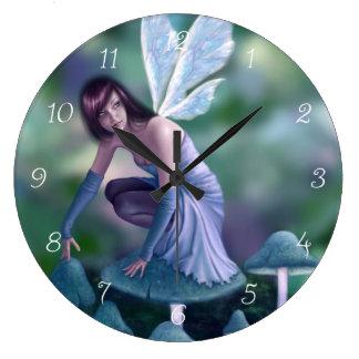 Reloj de pared de hadas del bígaro
