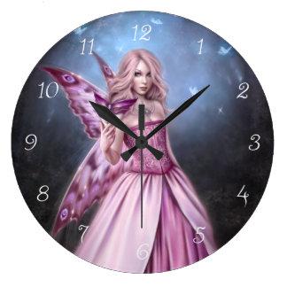 Reloj de pared de hadas del Titania