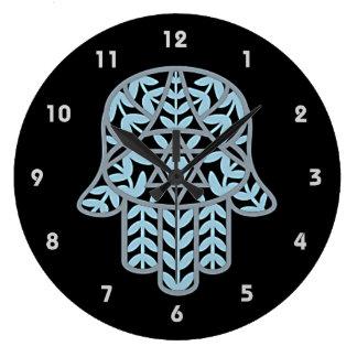 Reloj de pared de Hamesh Hamsa