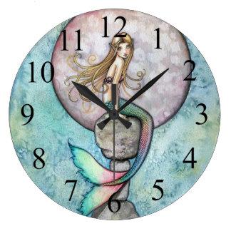 Reloj de pared de hundimiento de la sirena de la l