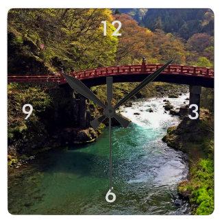 Reloj de pared de Japón del parque nacional de