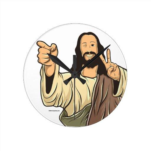 Reloj de pared de Jesús