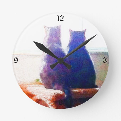 Reloj de pared de la amistad