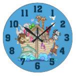 Reloj de pared de la arca de Noah