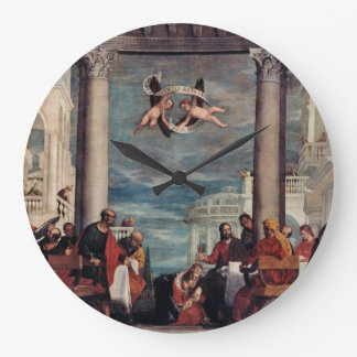 Reloj de pared de la bella arte