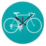 Reloj de pared de la bicicleta