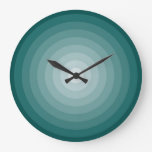 Reloj de pared de la blanco del trullo grande
