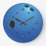 Reloj de pared de la bola de bolos