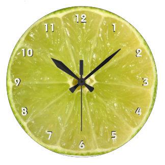 Reloj de pared de la cal con números