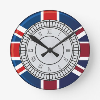 Reloj de pared de la cara de reloj de Londres Big
