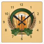 Reloj de pared de la cerveza