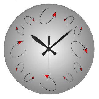 Reloj de pared de la cola del diablo del arte mode