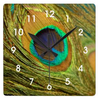 Reloj de pared de la decoración del hogar de la pl