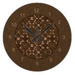Reloj de pared de la decoración del KRW Steampunk