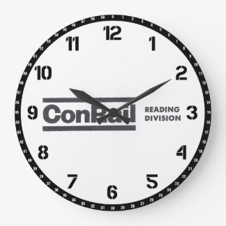 Reloj de pared de la división 1976 de la lectura d