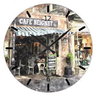 Reloj de pared de la escena de la calle de New Orl