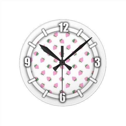 Reloj de pared de la fresa
