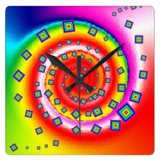 reloj de pared de la fuga de cerebros