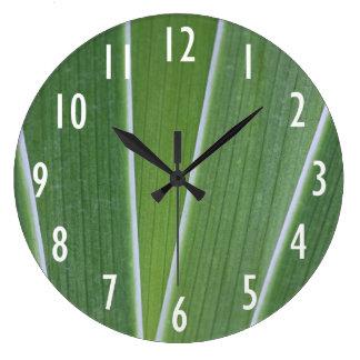 Reloj de pared de la hierba