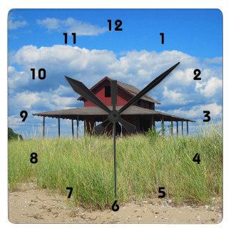 Reloj de pared de la isla de la hierba