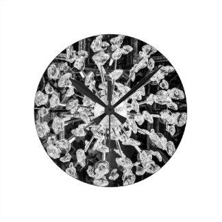 Reloj de pared de la lámpara
