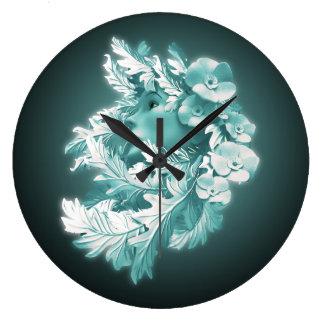 Reloj de pared de la madre naturaleza por los
