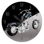 Reloj de pared de la moto