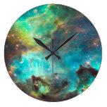 Reloj de pared de la nebulosa