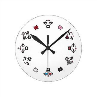 Reloj de pared de la PANDA J9