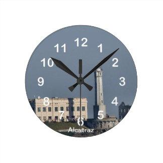 Reloj de pared de la prisión de Alcatraz