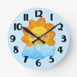 Reloj de pared de la sol
