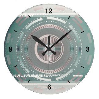 Reloj de pared de la tecnología