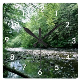 Reloj de pared de la tranquilidad con números