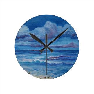 Reloj de pared de las aves marinas