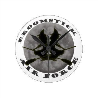 Reloj de pared de las brujas de Halloween