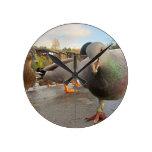 Reloj de pared de las palomas