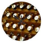 Reloj de pared de las paradas de órgano