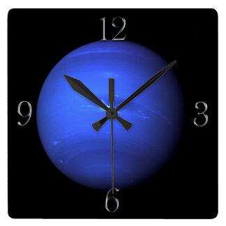 Reloj de pared de los Astronomía-amantes de Neptun