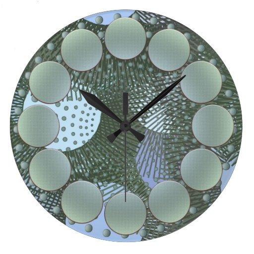 Reloj de pared de los lunares